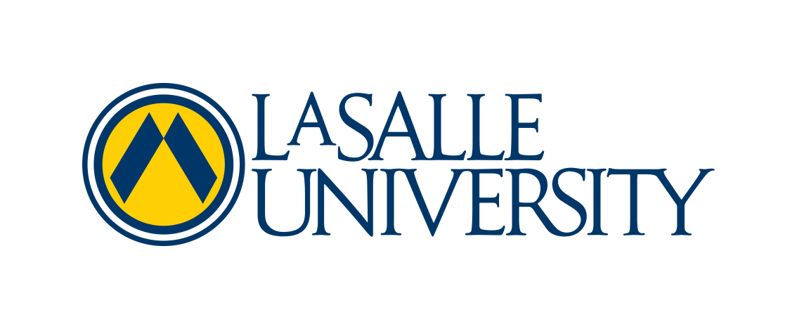 lasalle full color university logo