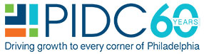 logo pidc phila orange