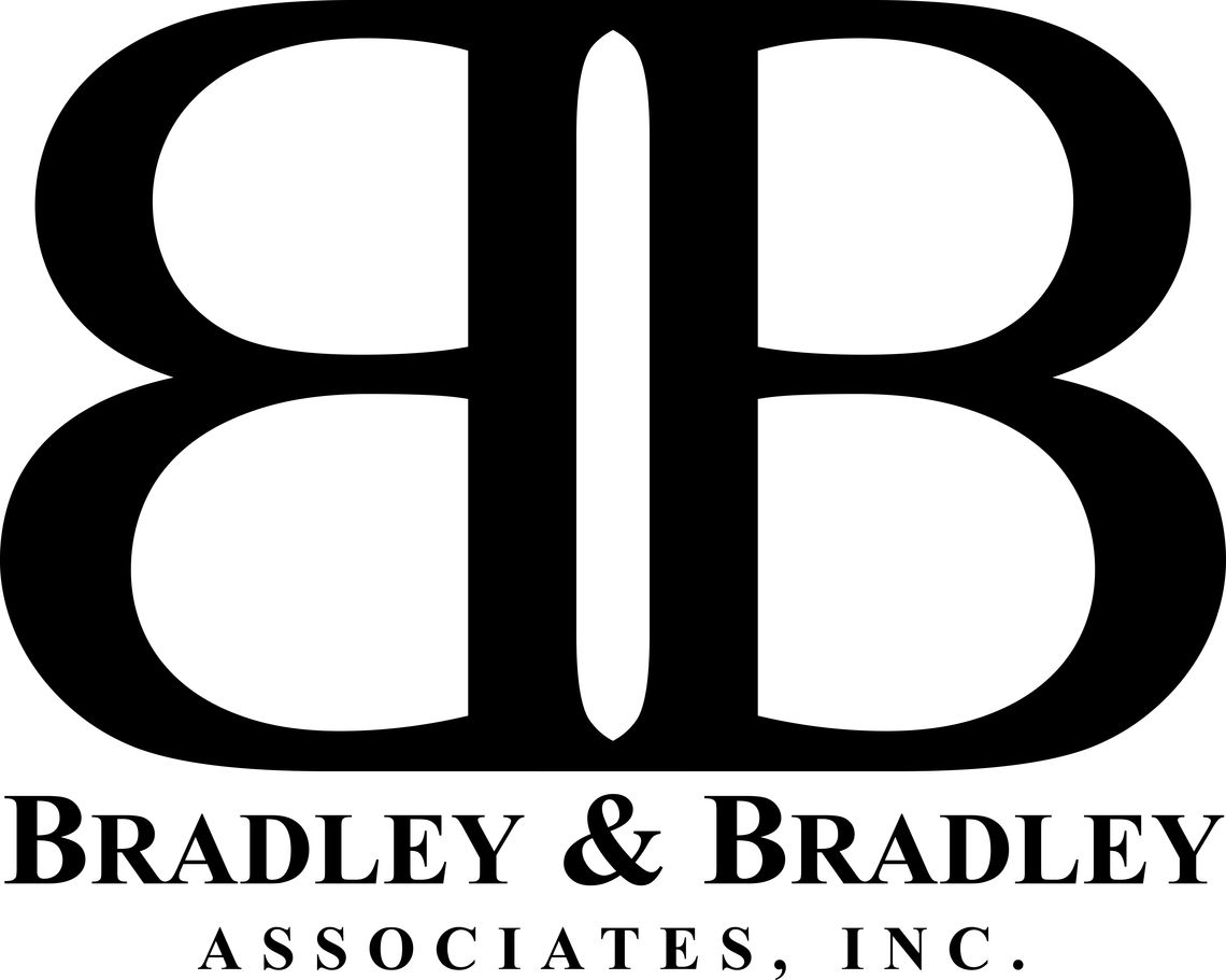 bradley and bradley logo black