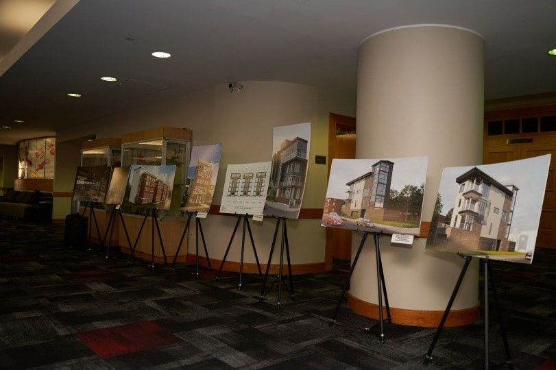 Healthy Town Tioga Project Renderings